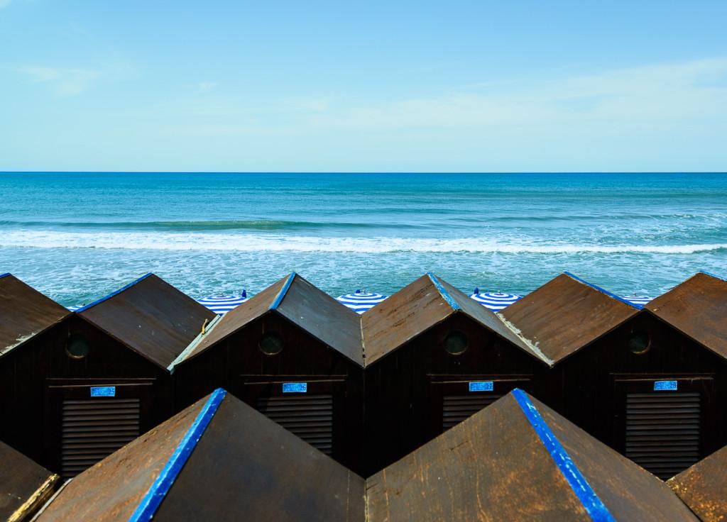 Le cabine ed il Mare